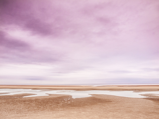 Purple Sky - Ainsdale Beach